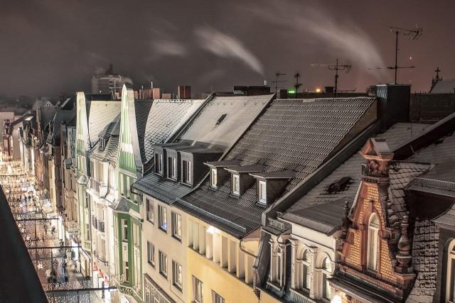 Gezuckerte Dächer im Seltersweg Gießen
