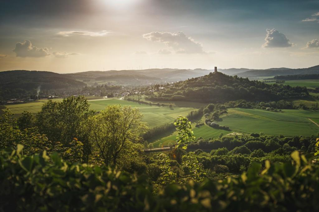 Die Burg Vetzberg
