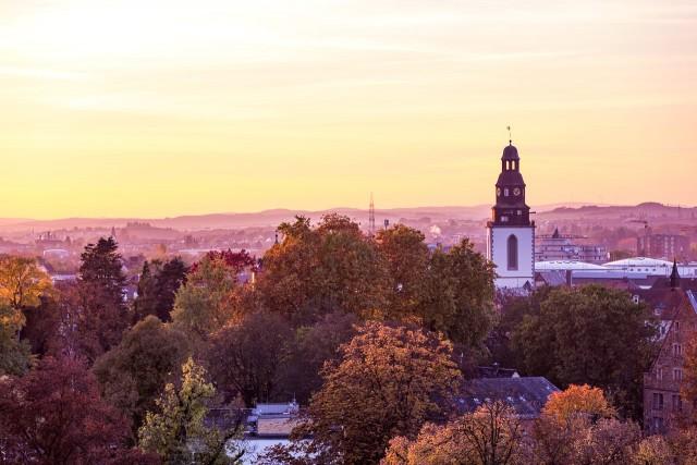 Der Stadtkirchenturm in Gießen