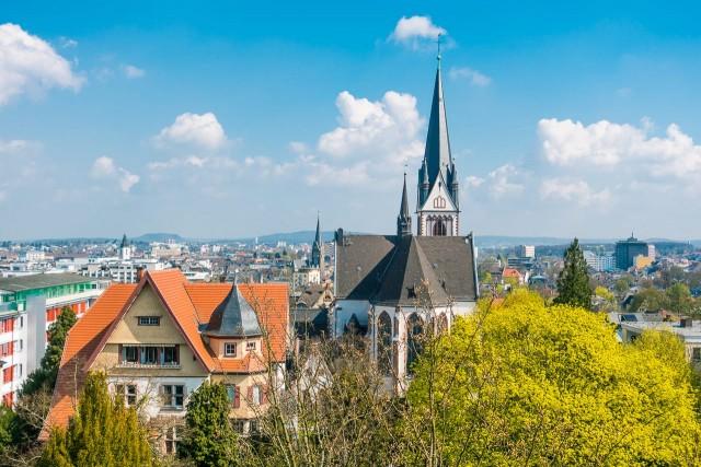 Die St. Bonifatiuskirche in Gießen