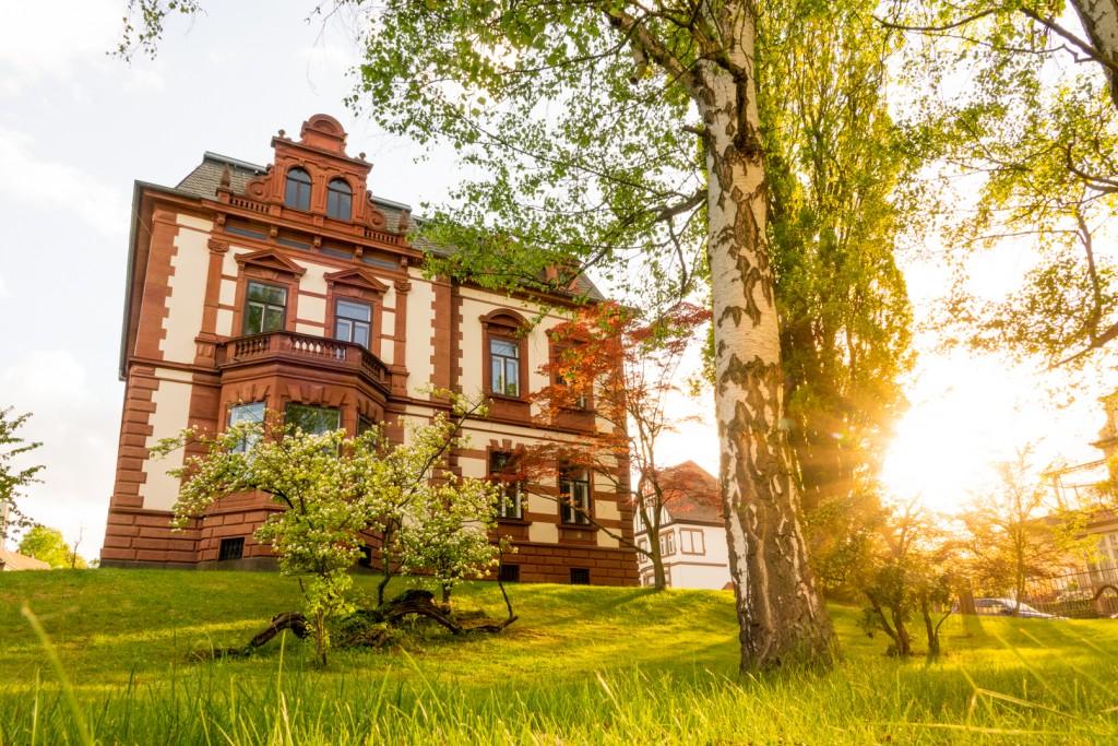 Die Villa Bänninger in Gießen