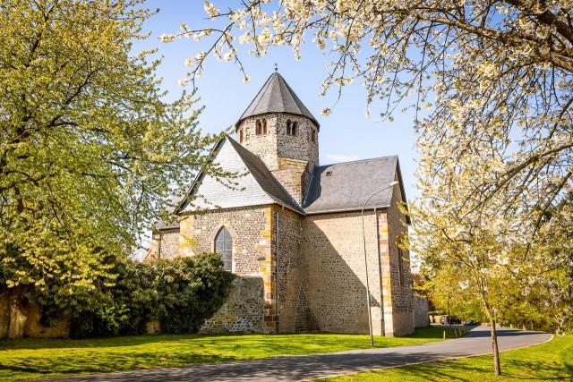Die Basilika des Kloster Schiffenberg
