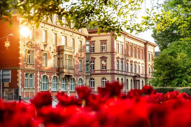 Das ehemalige Landgrad-Ludwigs-Gymnasium in Gießen